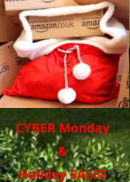 CYBER Monday  & Holiday SALES